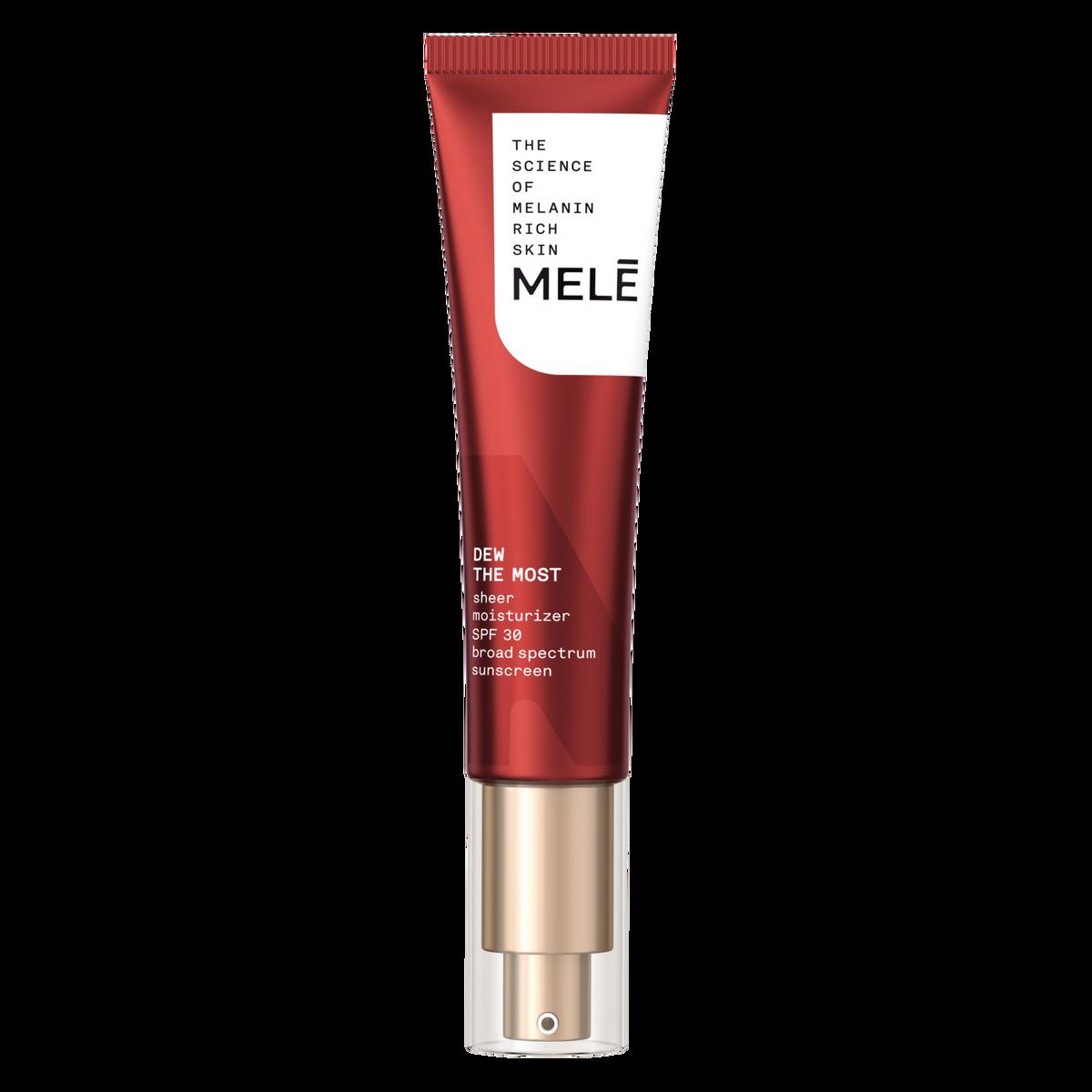 mele Dew the most sheer moisturizer spf 30