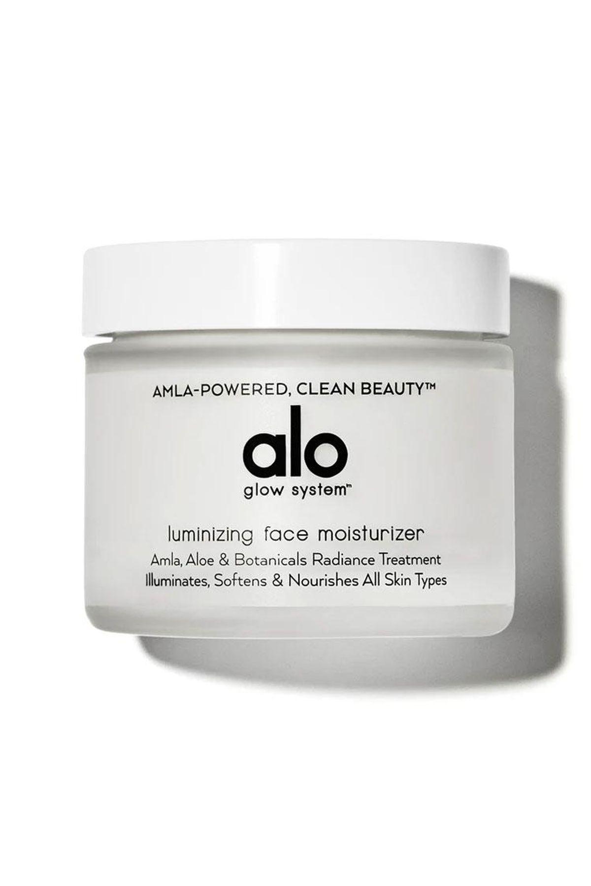 alo luminizing facial moisturizer
