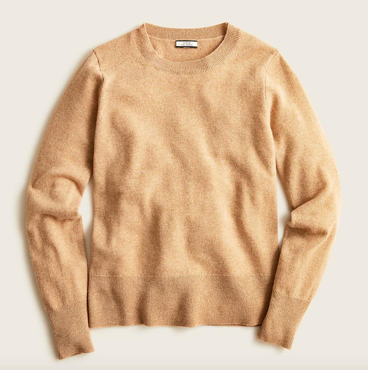 Cashmere Classic Fit Crewneck Sweater