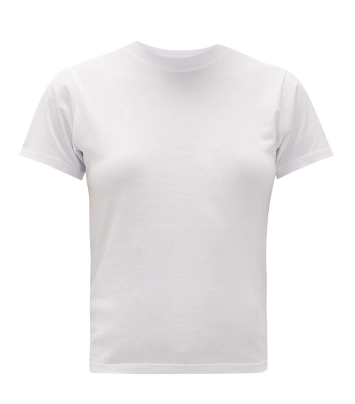 The Crew Cotton Jersey Cropped T-shirt