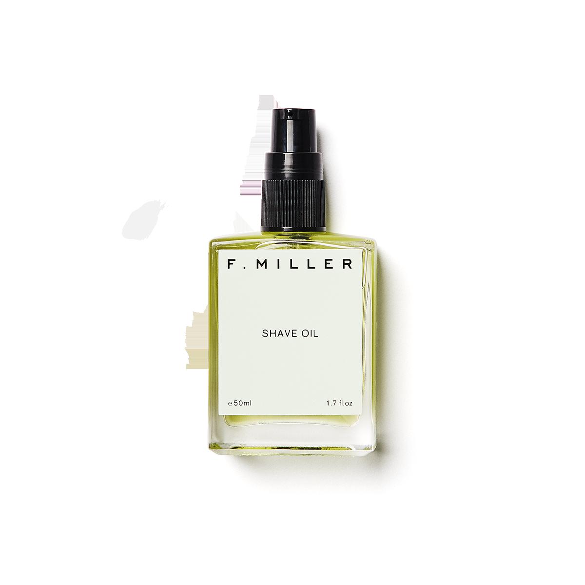 f miller shave oil