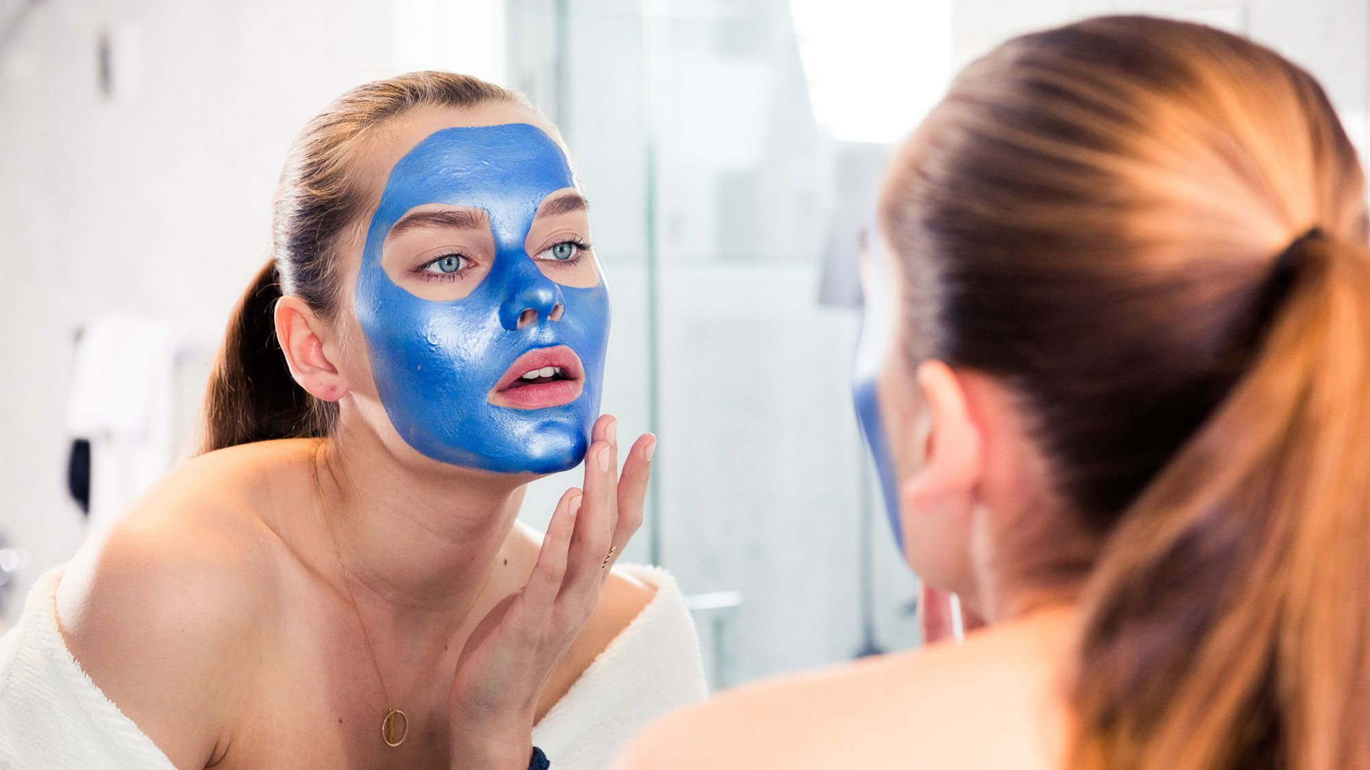 face mask helped editor stop wearing makeup
