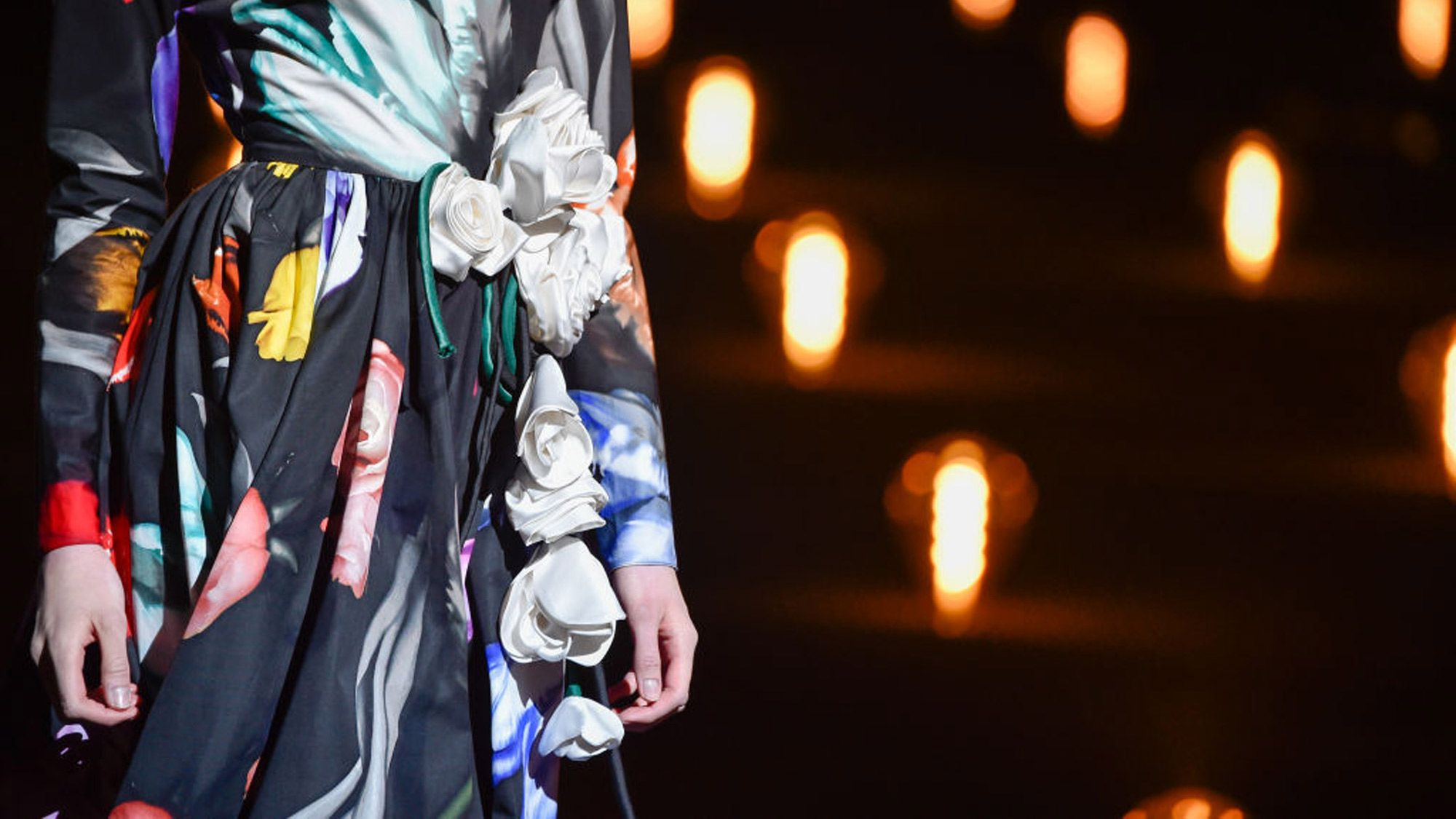 fall 2019 floral print trend