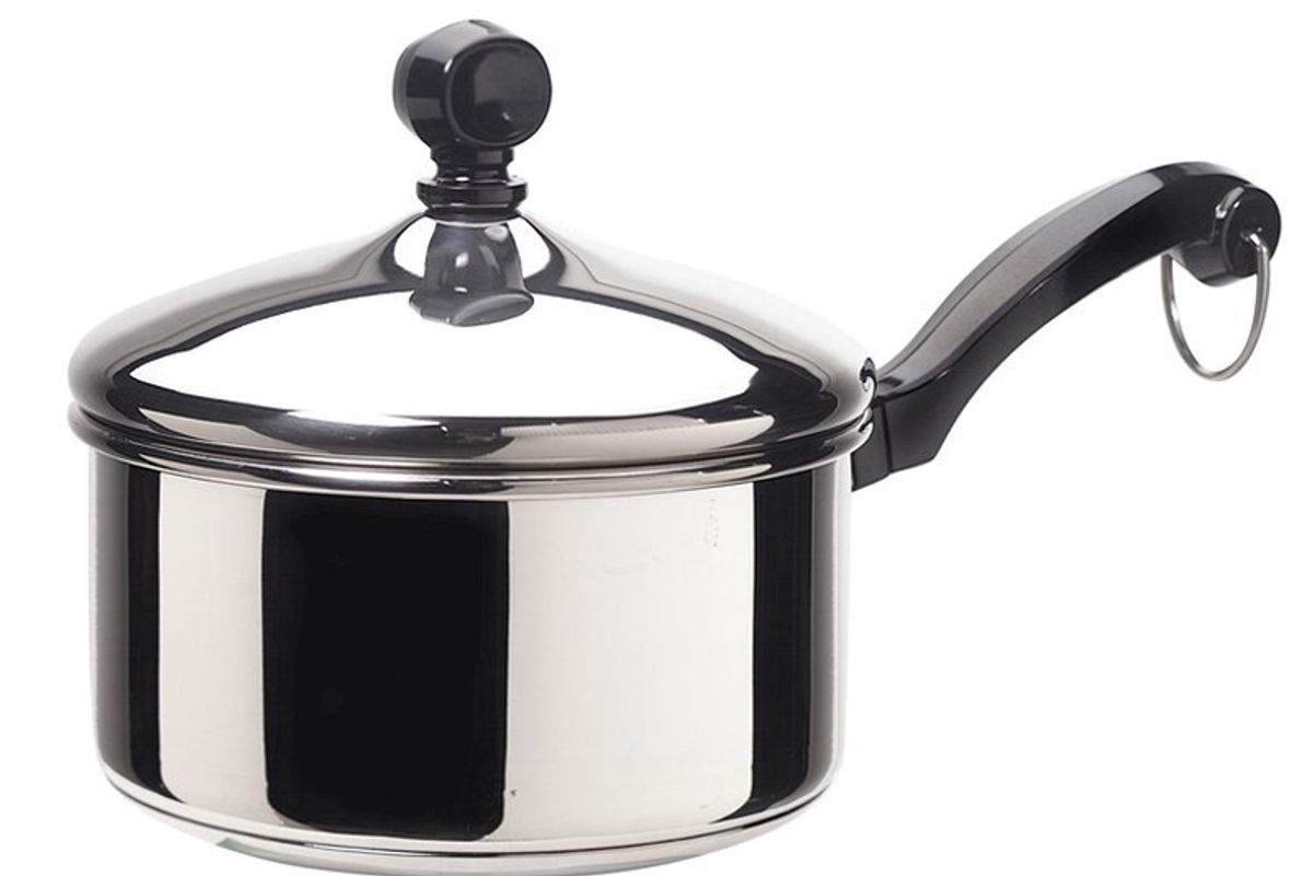 farberware classic stainless steel saucepan with lid