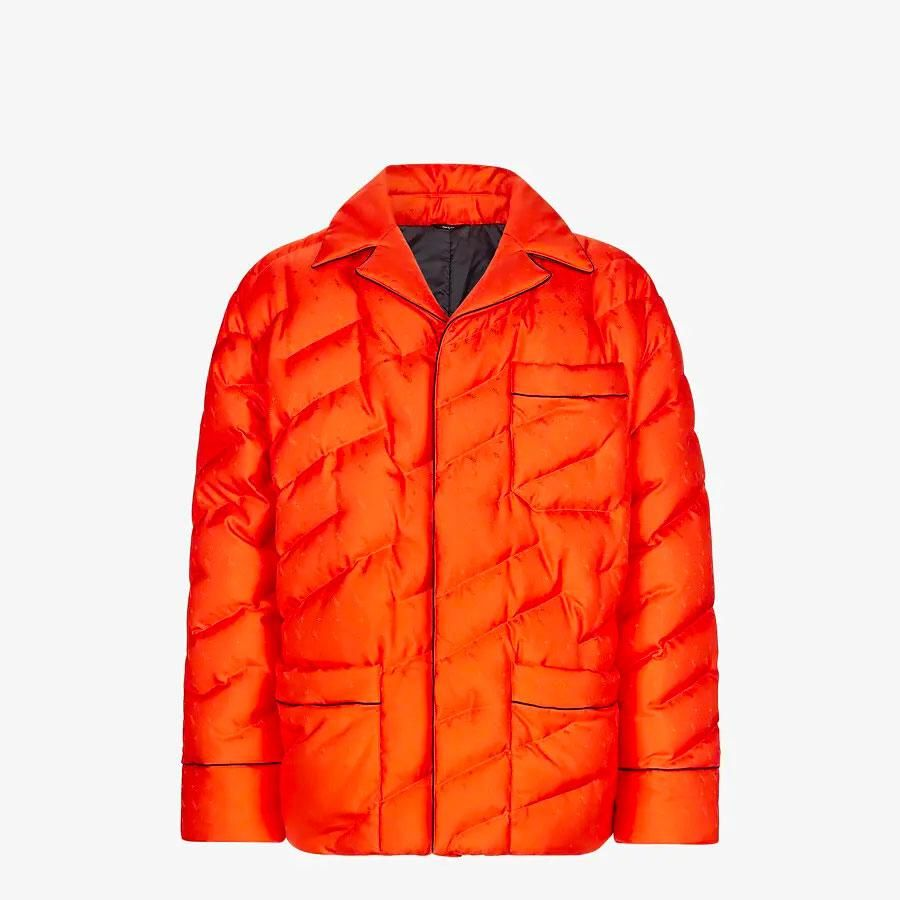 fendi red silk jacket