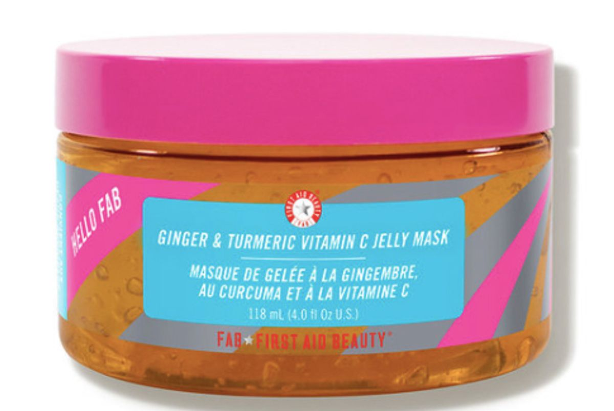 first aid beauty ginger and turmeric vitamin c jelly mask