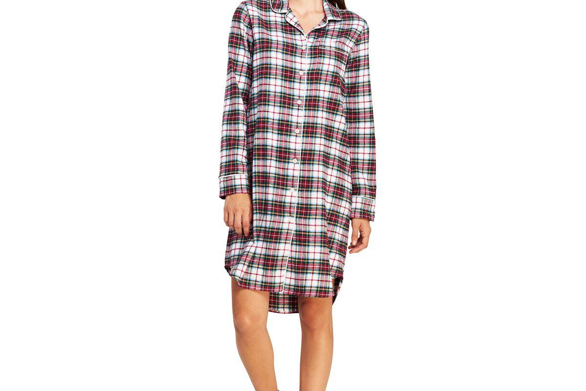 Women's Flannel Nightshirt
