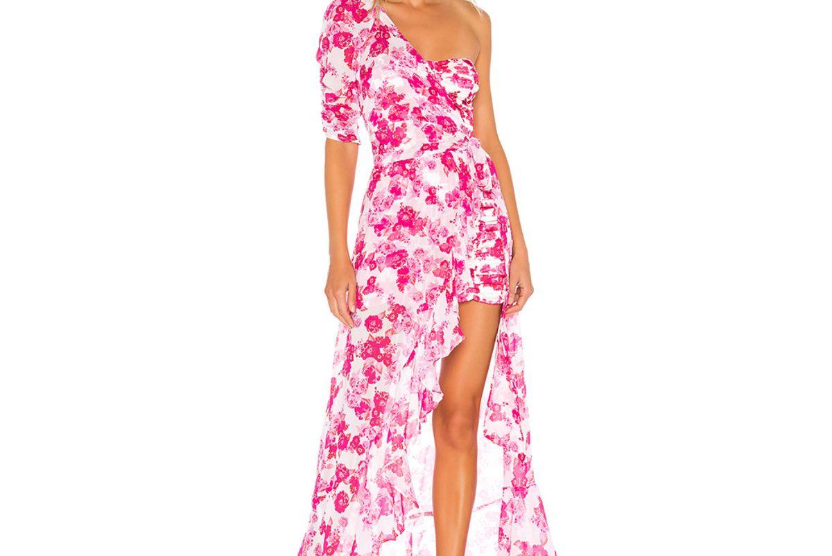for love and lemons aruba layered mini dress