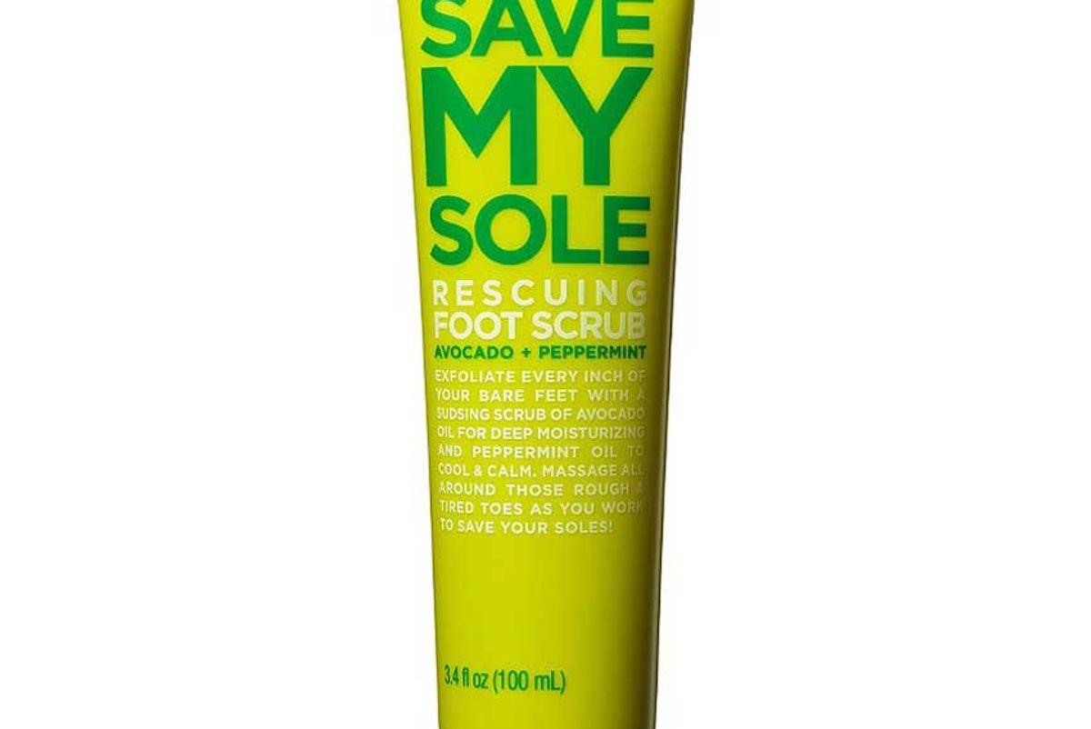 formula 10 0 06 save my sole rescuing foot scrub avocado plus peppermint