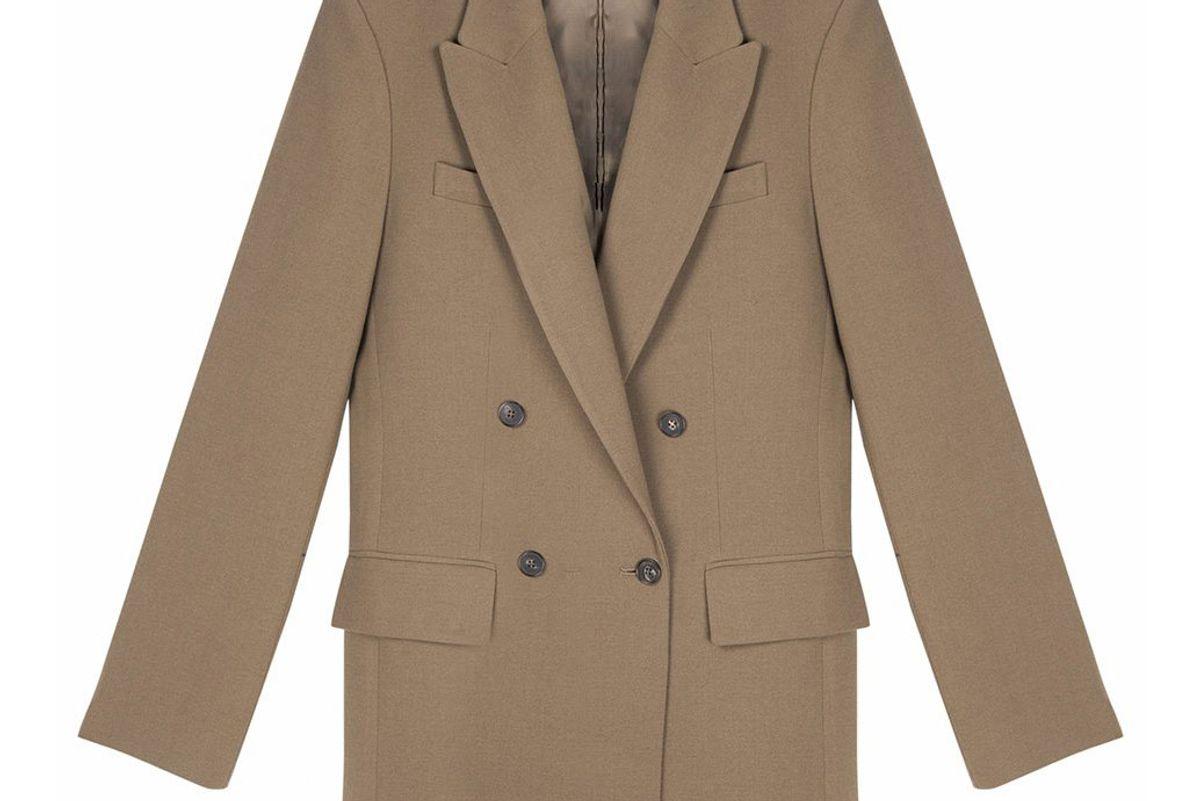 frankie shop double breasted blazer