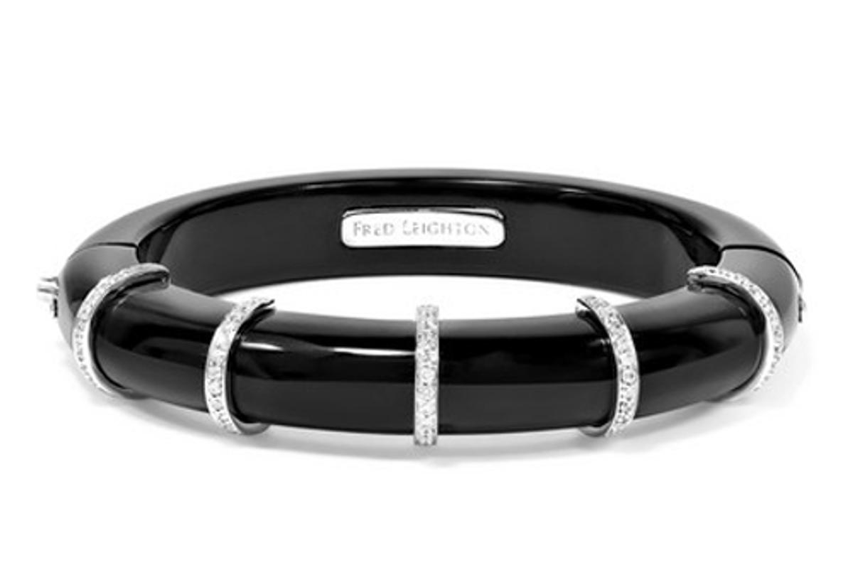 fred leighton 18 karat white gold jade diamond bracelet