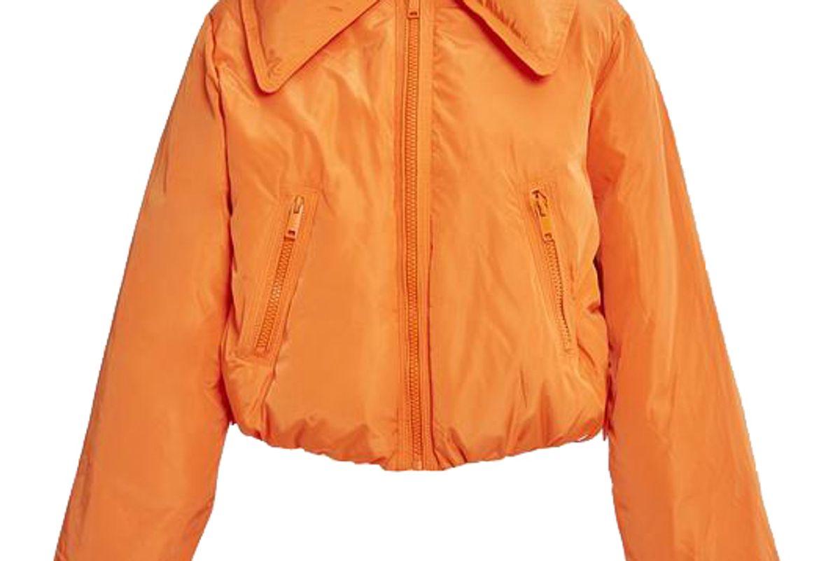 ganni tech down jacket
