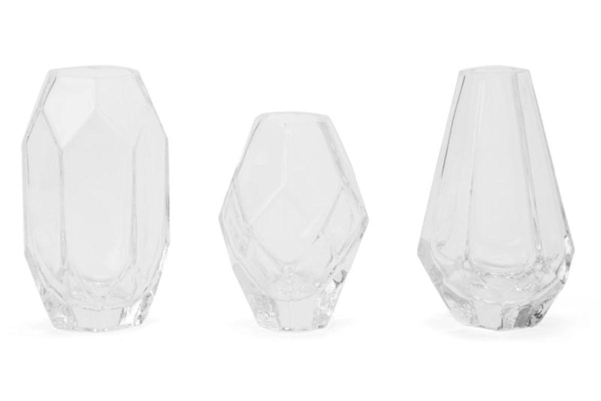 Geo Trio Glass Vase