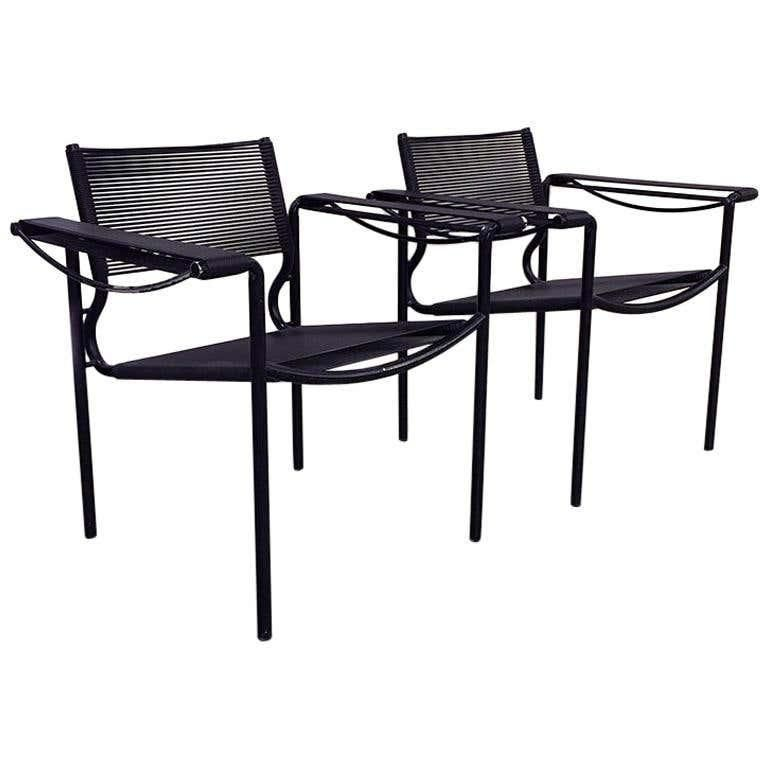 giandomenico belotti for alias set of two scooby armchairs