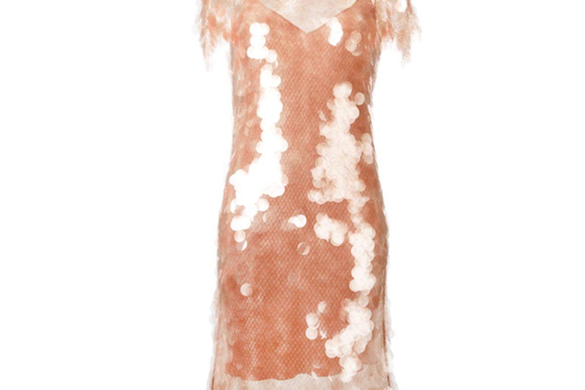 Sequin Dress With Slip