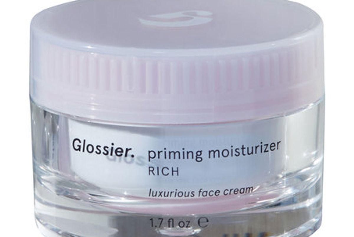 glossier priming moisturizer rich creme de glossier