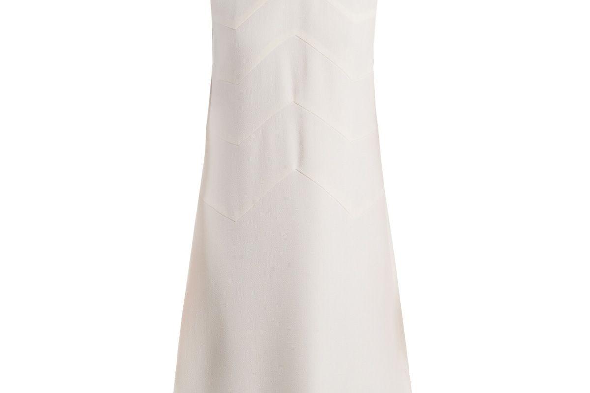 goat fandango sleeveless embellished hem wool dress