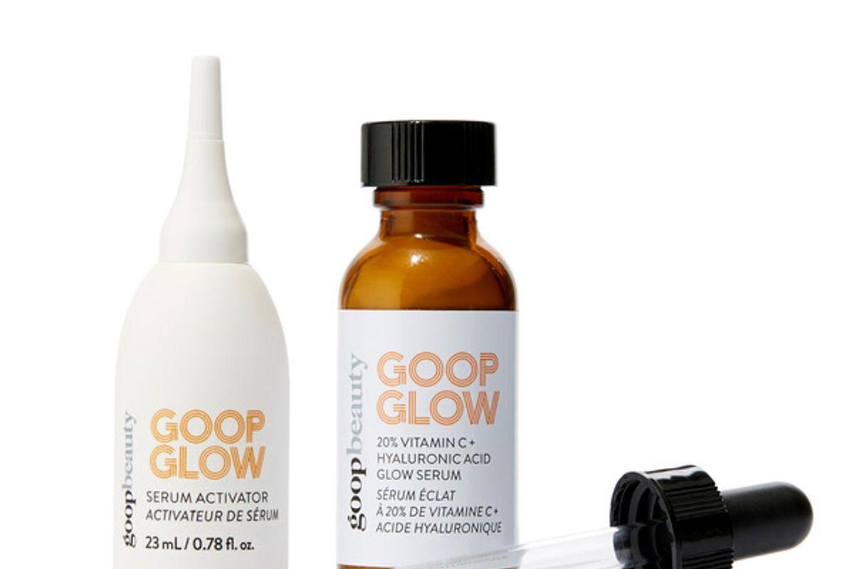 goop goopglow 20 percent vitamin c and hyaluronic glow serum
