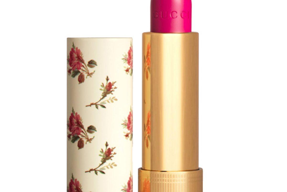 gucci 402 vantine fuchsia rouge a levres voile lipstick