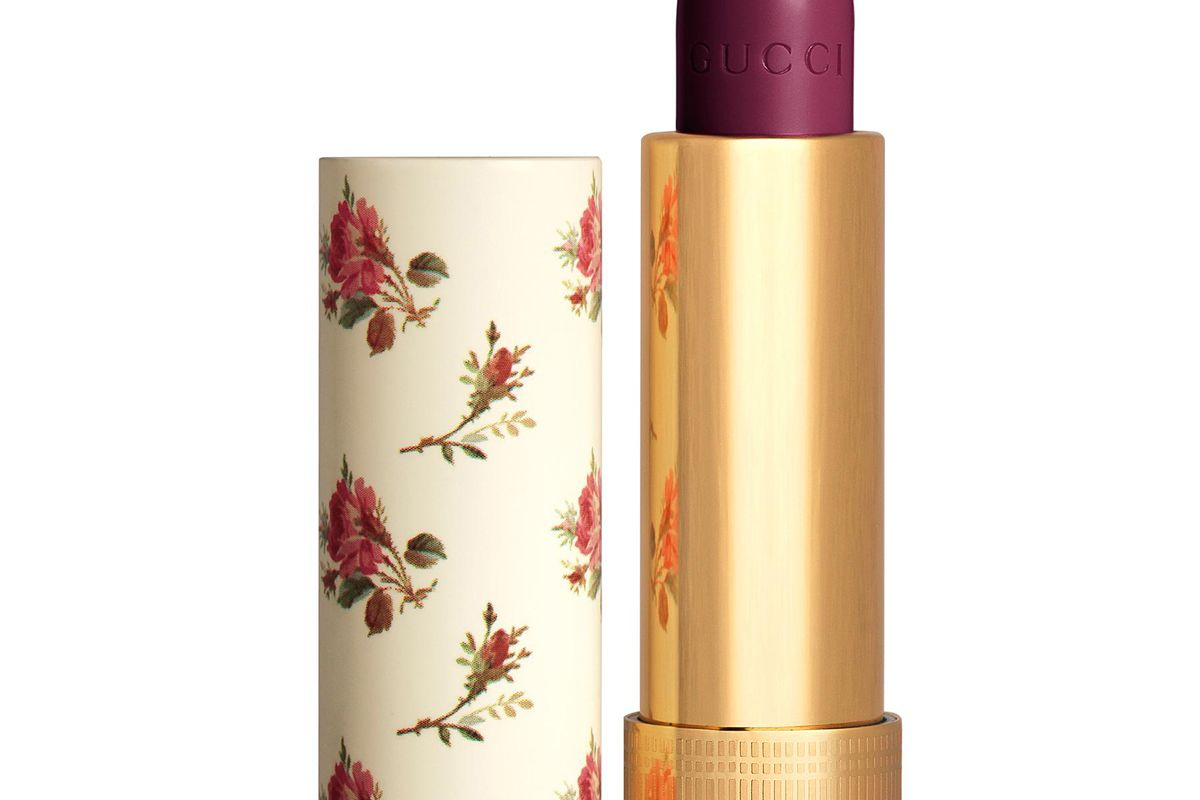 gucci 603 marina violet rouge a levres voile lipstick