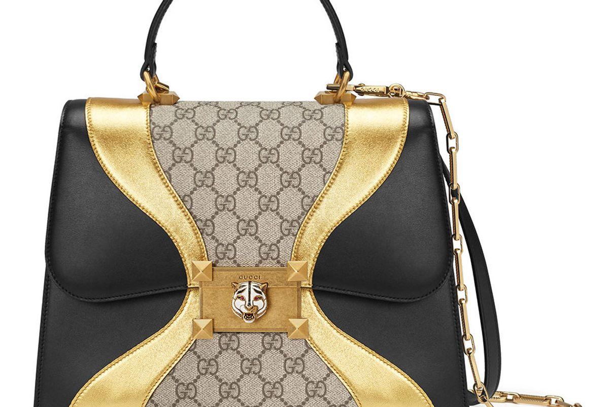 Supreme GG Leather Handbag