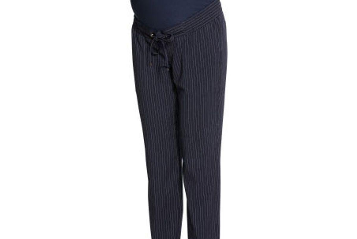 Mama Striped Pants