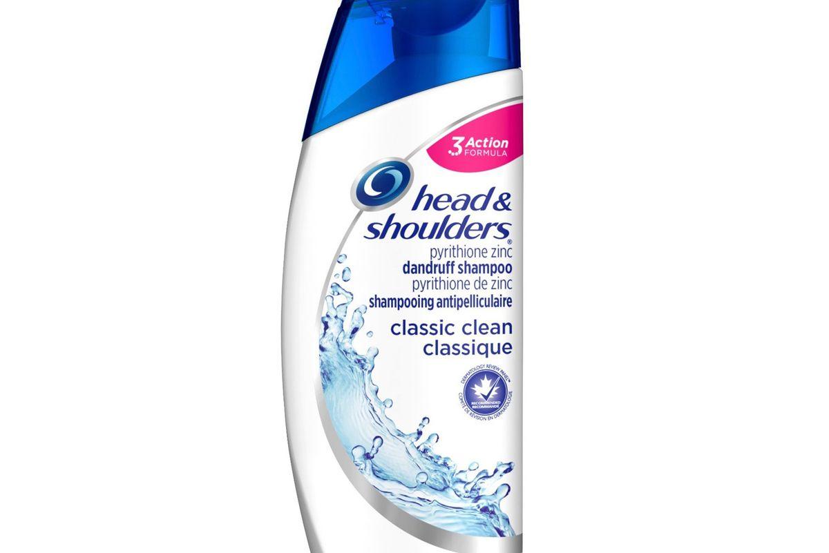 head and shoulders classic clean shampoo