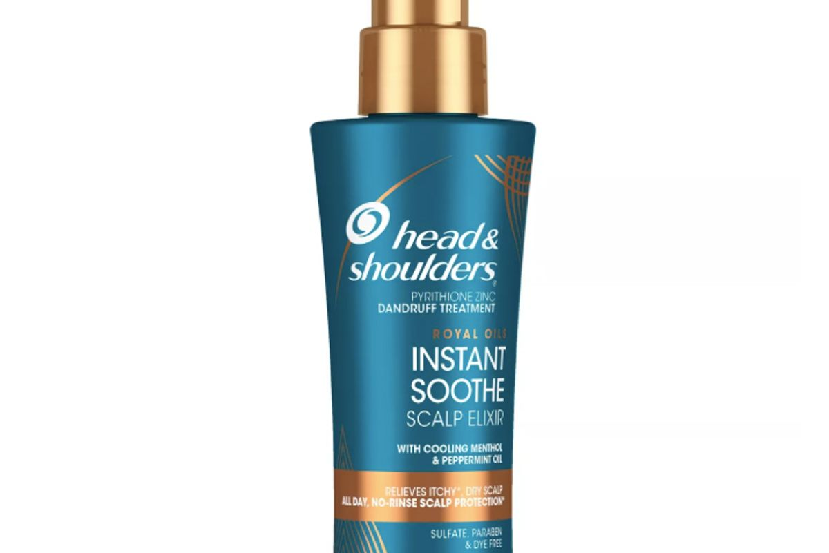 head and shoulders royal oils instant soothe scalp elixir treatment with menthol peppermint oil
