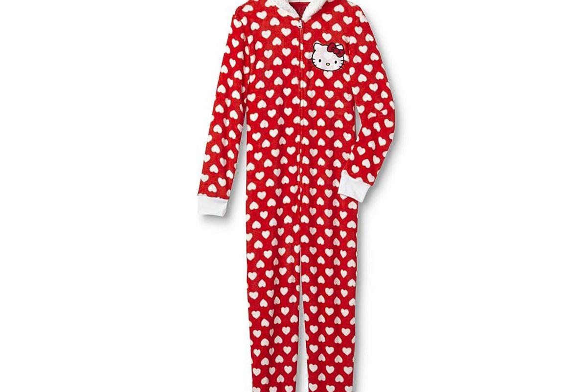 Hello Kitty Women's One-Piece Pajamas