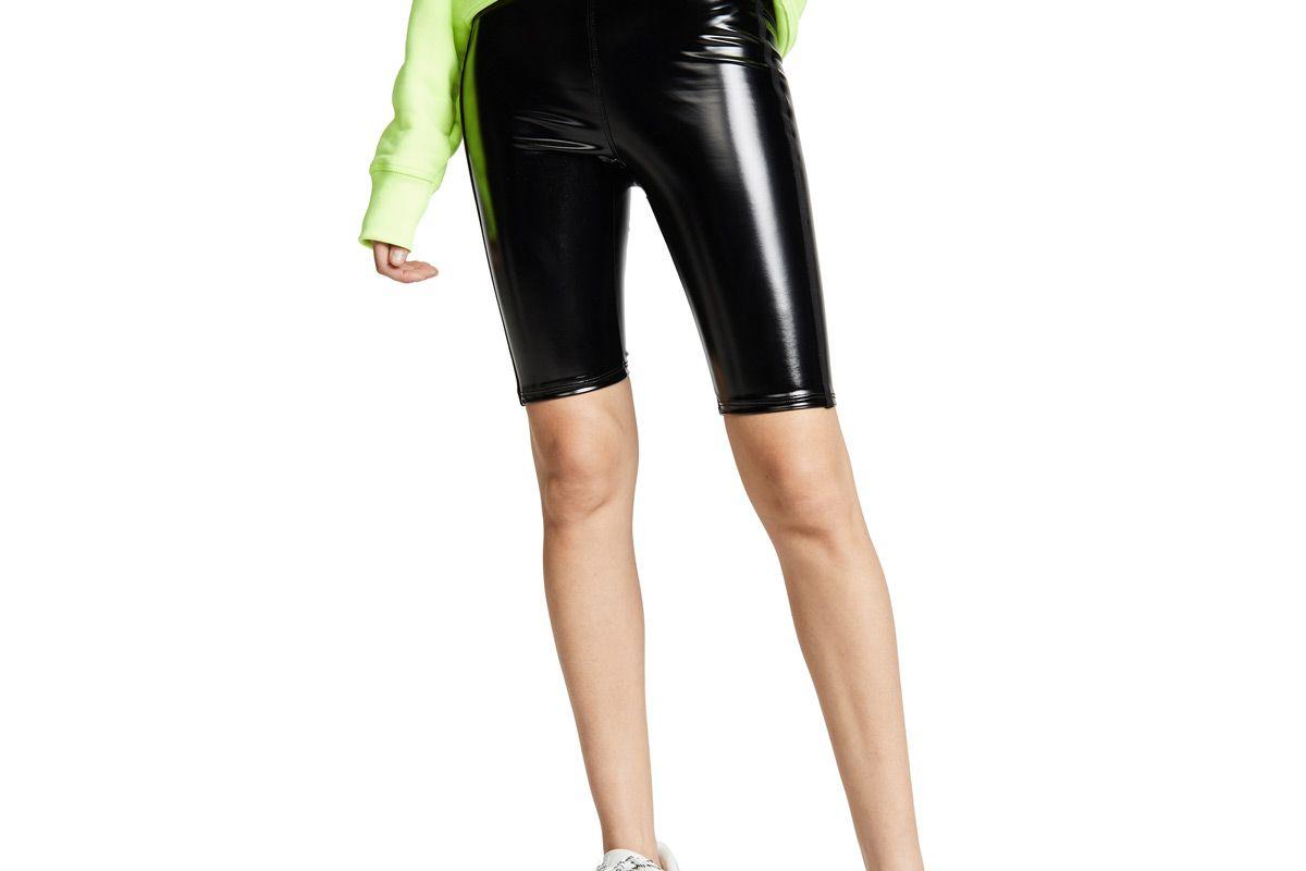 heroine sport downtown patent biker short