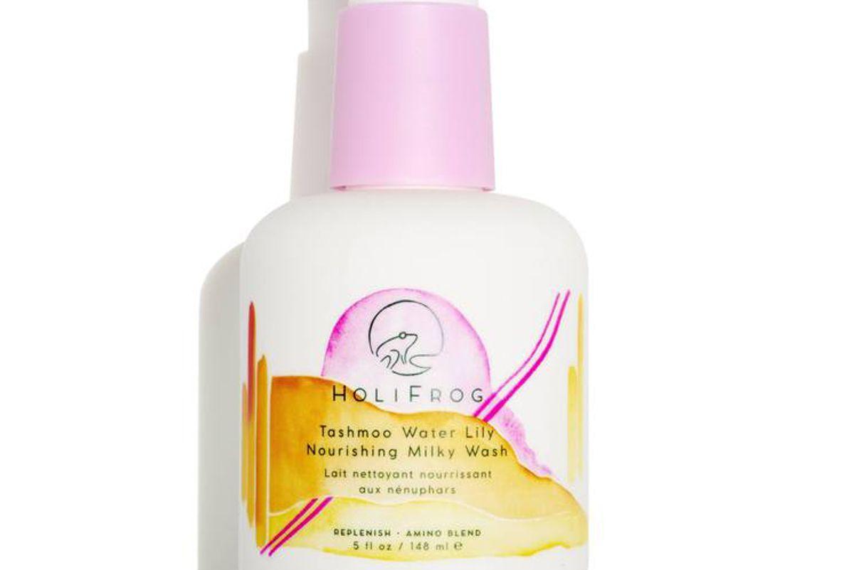 holifrog tashmoo water lily nourishing milky wash
