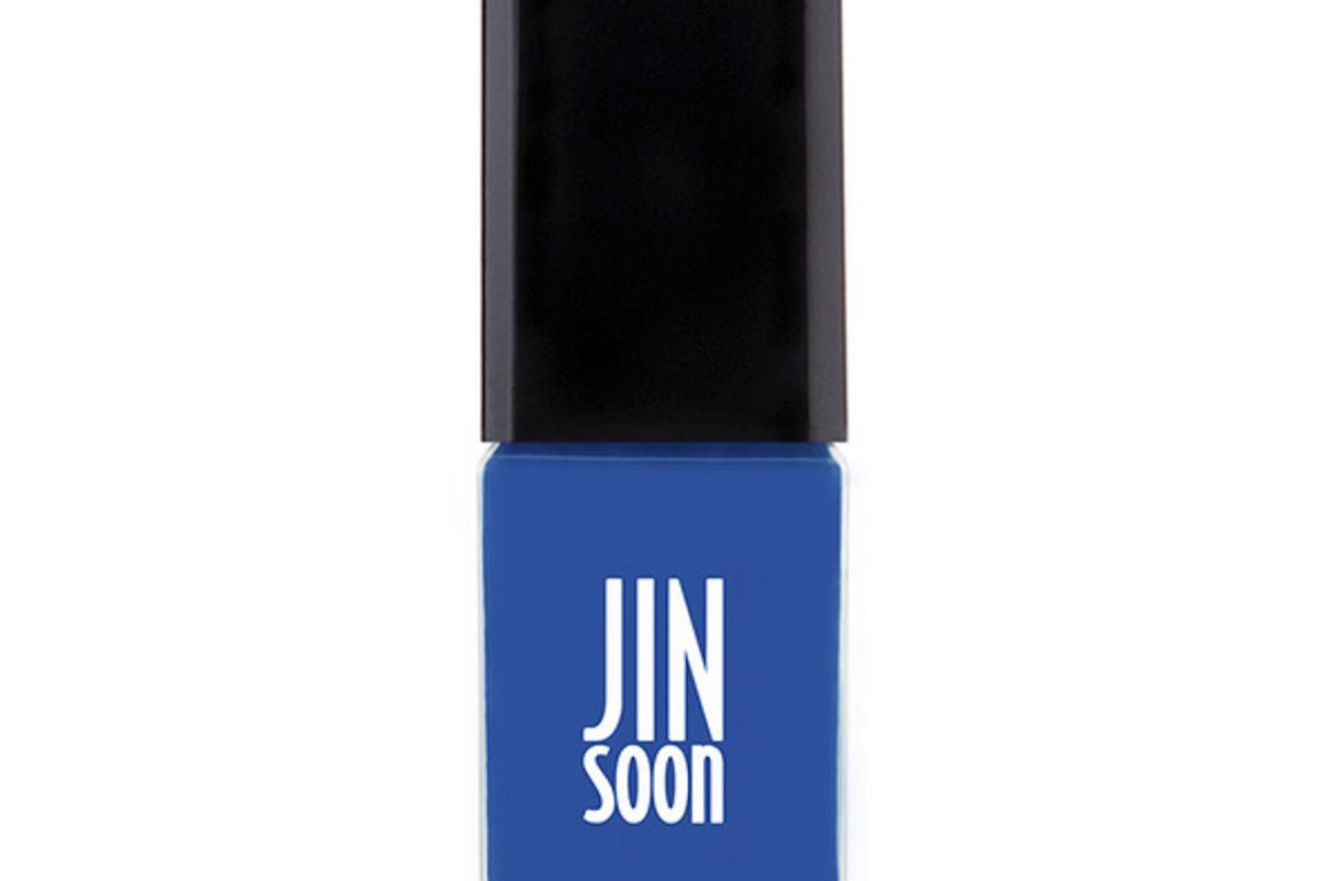 Cool Blue Nail Polish
