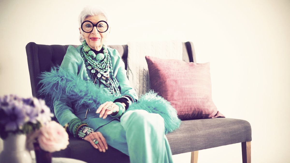 Life Lessons with Iris Apfel