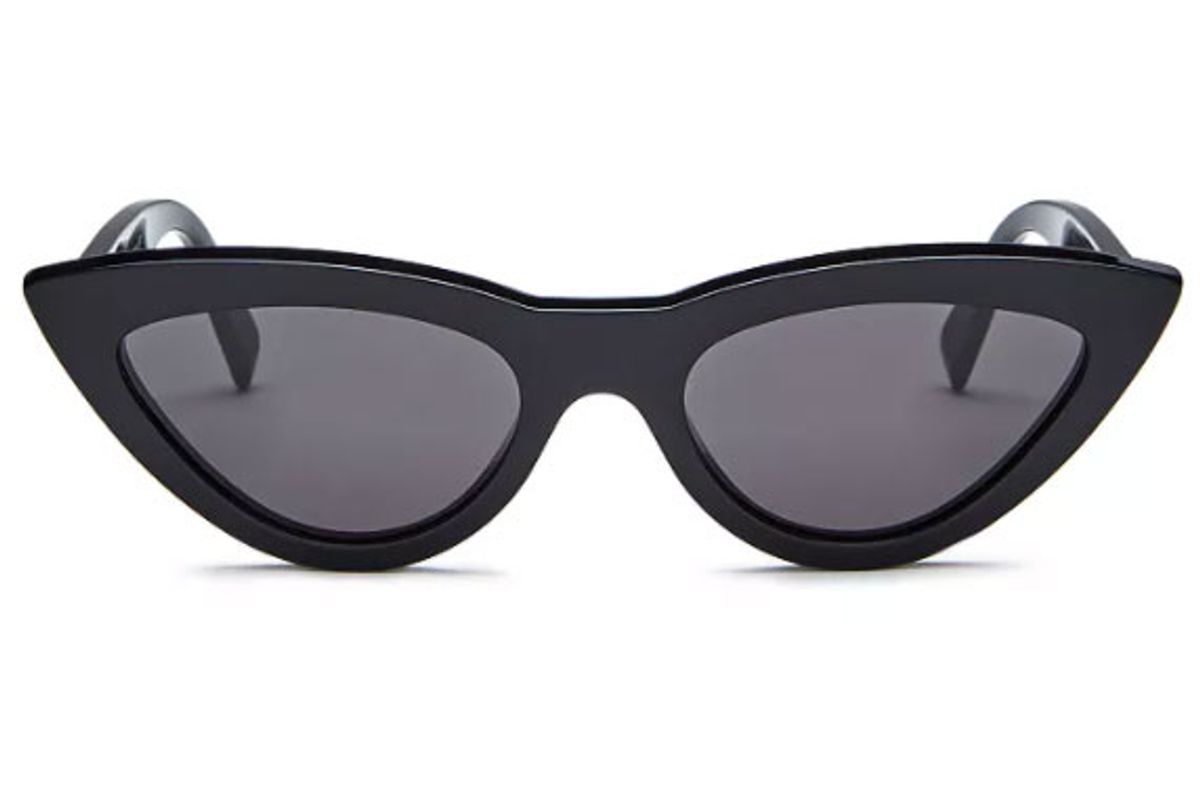 celine womens cat eye sunglasses 56mm