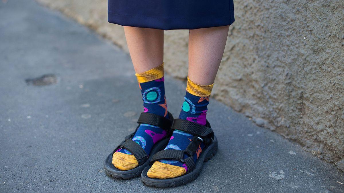 geriatric dad sandal trend