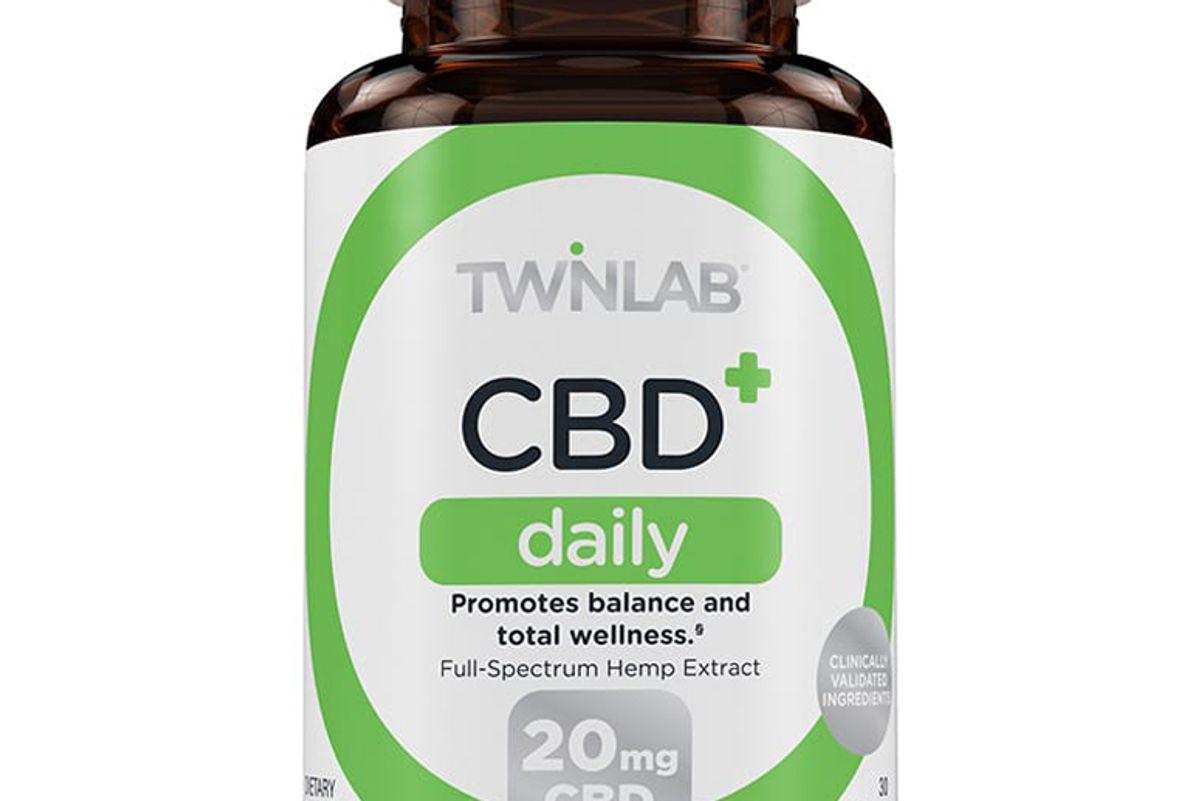 twinlab cbd plus daily capsules 20mg 30 count