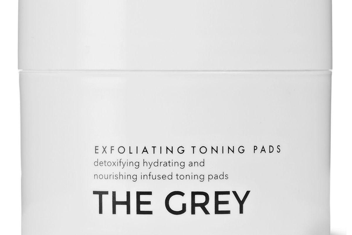 the grey exfoliating toning pads x 50