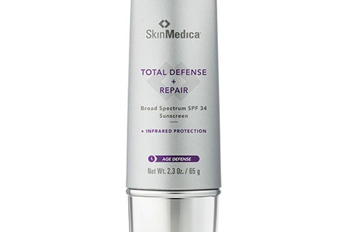 skinmedica total defense and repair borad spectrum spf 34 pa plus plus plus plus sunscreen
