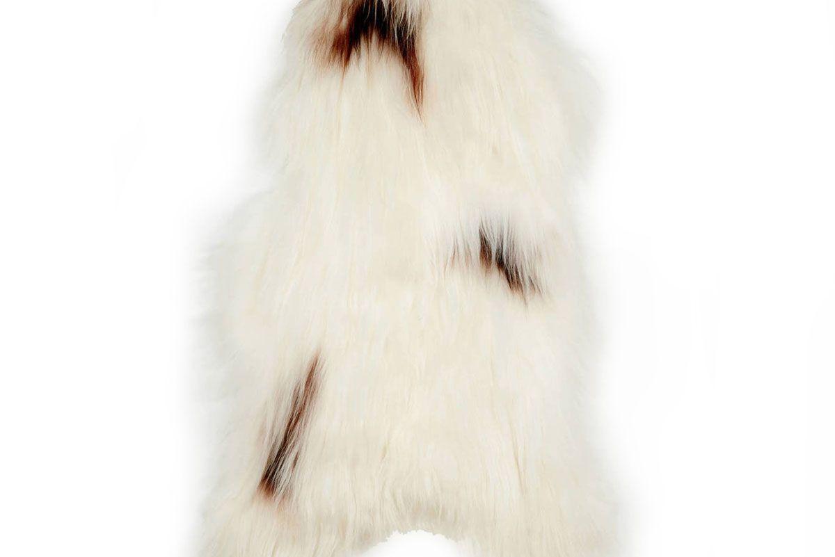 Extra Large Natural Spotted Icelandic Sheepskin