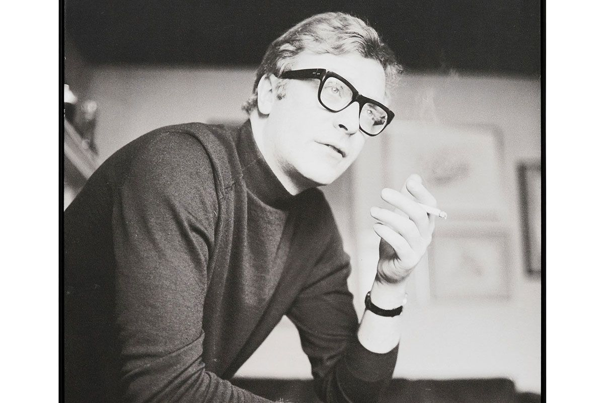 Michael Caine on Canvas