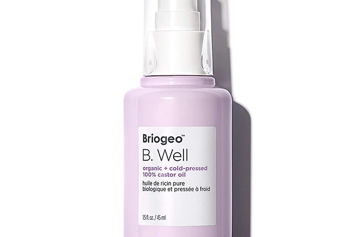 briogeo b well organic and cold pressed 100 percent castor oil