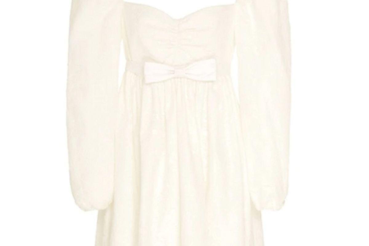 markarian borromeo lace babydoll dress