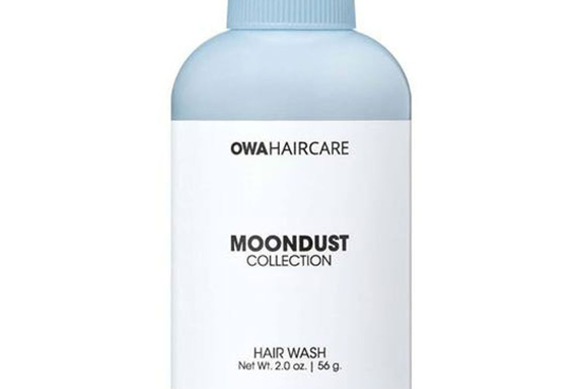 owa haircare moondust hair wash