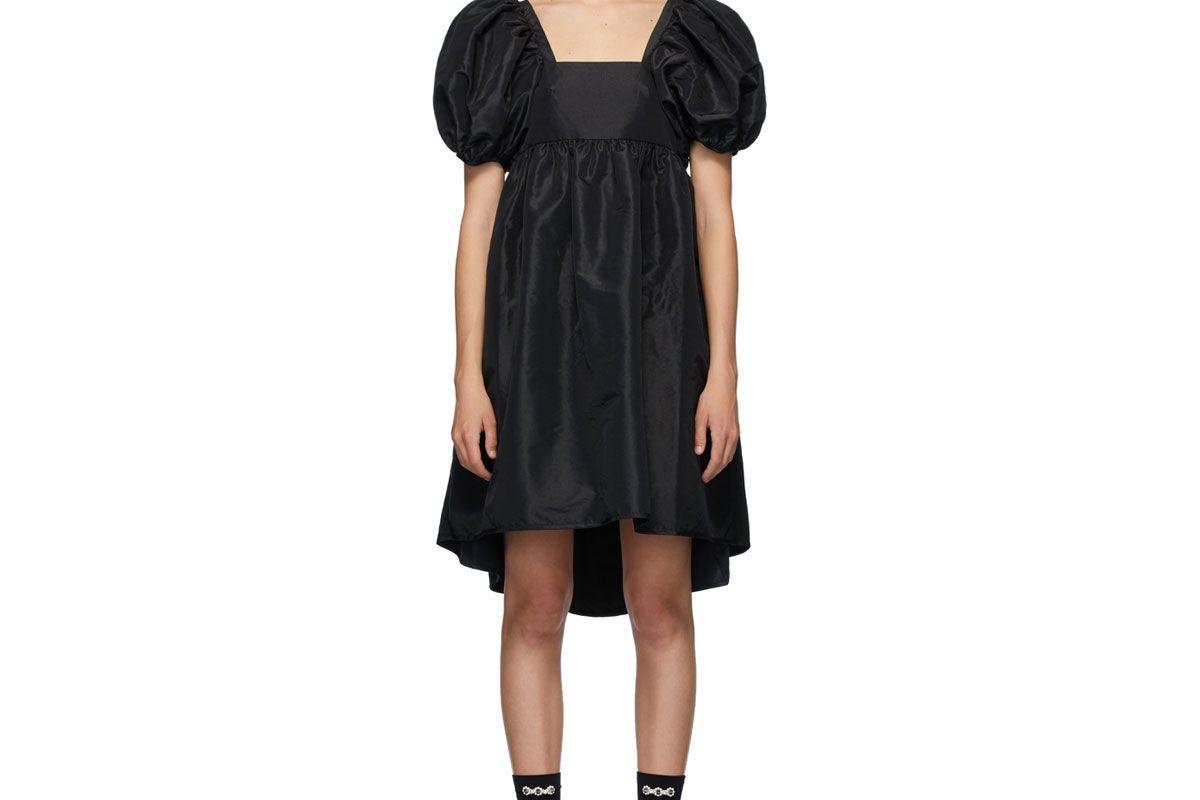 cecilie bahnsen black tilde dress