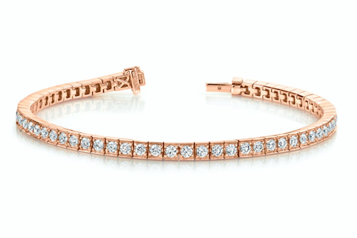 anita ko small serena diamond tennis bracelet
