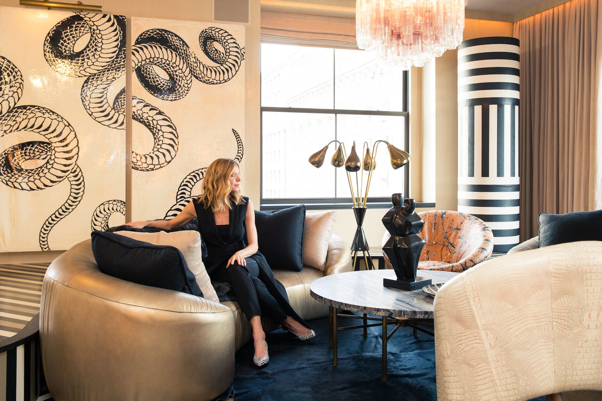 This Kelly Wearstler-Designed Home Is the Right Kind of Over-the-Top