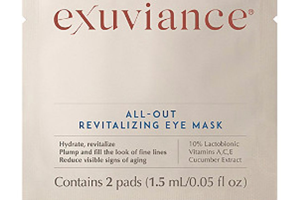 exuviance all out revitalizing eye mask