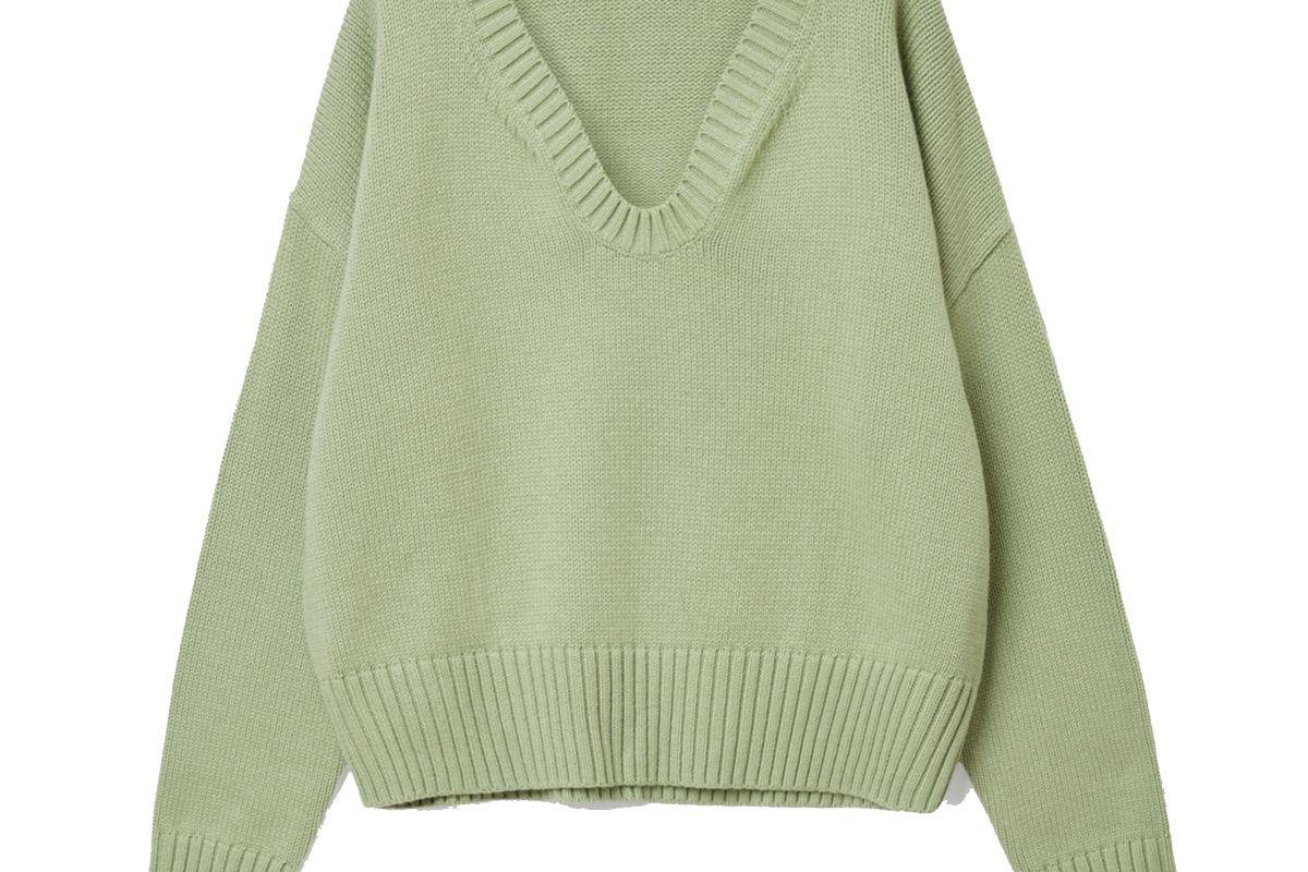 cos cotton wool alpaca sweater