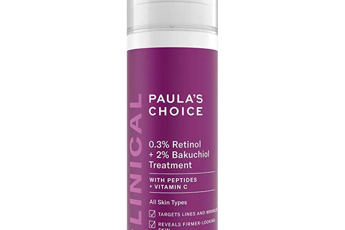 paulas choice 3 percent retinol plus 2 percent bakuchiol treatment