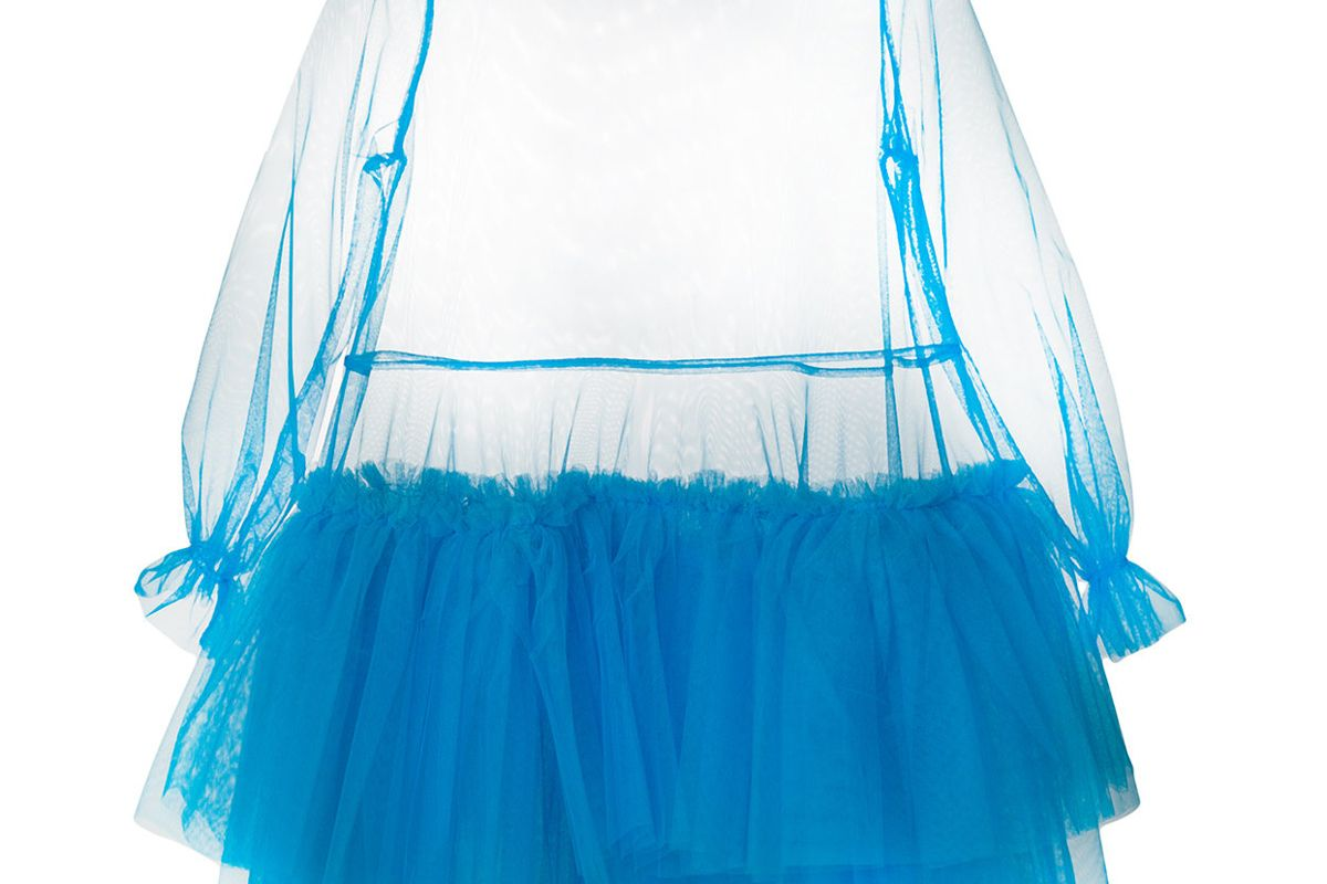 Blue Agatha Dress